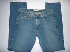 Levis Straight Leg 505 Women's 8M Jeans Medium Wash 5 Pocket - N6