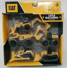 CAT Caterpillar Little Machines 5 Pack Trucks  Construction Play