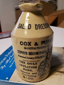 Salt Glaze Stoneware Cox and Purves Made in England Modern Funny