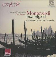 C. Monteverdi - Monteverdi: Madrigali: Mantova, Cremona, Venezia [CD]