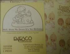 Nib 1997 Precious Moments Figurine # 325538~Well, Blow Me Down It's Yer Birthday
