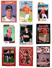 (9) Cal Ripken Jr. Odd-Ball Trading Card Lot - #2