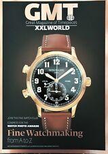 Great Magzine of Timepieces  GMT XXL World Magazine Patek Philippe  Bvlgari