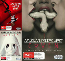 AMERICAN HORROR STORY Seasons 1 2 3 : NEW DVD