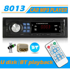 Car Stereo Digital Media Bluetooth FM/MP3 Audio Receiver with Remote Control