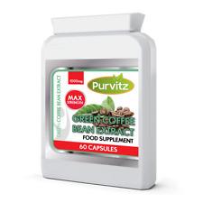 Estratto di chicco di caffè verde 1000mg sicuro naturale perdita di peso Dieta Pillole Capsule