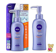 ☀Nivea Sun Protect Water Gel SPF 50/PA +++ Pump 140g Import Japan F/S