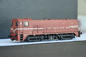 PHILOTRAIN NMBS/SNCB Class 7601-7625 Diesel Engine Unnumbered Brass