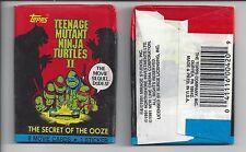 1991 Topps Teenage Mutant Ninja Turtles II single Wax Pack