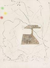 Joan Miro Le ciel du forgeron 1964 - Original Signed Drypoint etching w/ imprint
