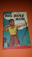 1940s TUCK AND SONS BETTER LITTLE BOOK BIG BOY'S BOW