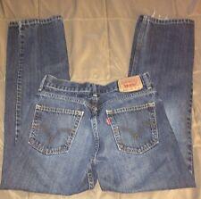 Levi's 514 Slim Straight Leg; Young Men's Denim Jeans Size: 16 Reg. (28x28)