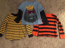 Baby Gap Lot Boys Long Sleeve Shirts Size 5