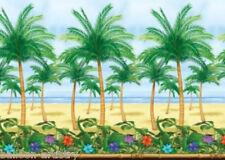 Tropical Paradise Scene Setter Room Roll ISLAND BEACH
