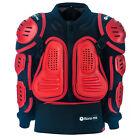 Bonz-mx Kids Red / Black quad dirt bike buggy Deflector SAFTEY Jacket Motocross