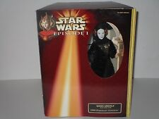 Star Wars Episode I Queen Amidala Portrait Edition Black Travel Gown NRFB