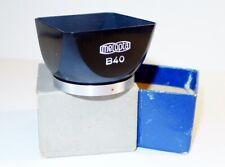 Lens hood-  Flexaret Meopta square bayonet B40 - Original Box