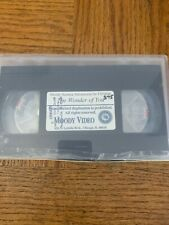 The Wonder Of You VHS