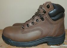 "NEW MENS TIMBERLAND PRO TITAN 6"" SAFETY TOE LEATHER WORK BOOTS 26063 10 W WIDE"