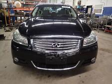 08 09 10 INFINITI M35: Front Bumper Assembly w/Adaptive Cruise Opt; Black KH3