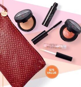 Laura Geller 5Pc Beauty Break GWP Set Lip Gloss, Highlighter, Blush,🌹Glam LASH