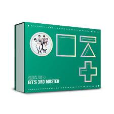 BTS 3RD MUSTER [ARMY.ZIP+] DVD (3DVD+Photobook+Storybook+PhotoCard+PostCard)