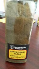 Woodland Scenics Static Grass Flock Burnt Grass FL 633 Model Trains or Diorama