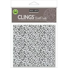 "Hero Arts Cling Stamps 6""X6"" - Confetti"