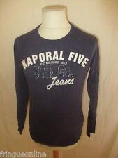 T-shirt Kaporal 5 Bleu Taille S à - 53%