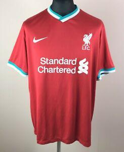 Liverpool 2020/2021 NIKE Home Football Shirt Men's Size 2XL Soccer Jersey