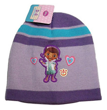 Doc McStuffins Pet Vet Disney Junior Girls Beanie Knit Stocking Cap Winter Hat