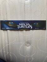 Teenage Mutant Ninja Turtles Mini Movie Theatre Mylar