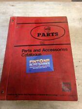 Genuine GM Opel Kadett B Parts Part Number Catalog Book Books