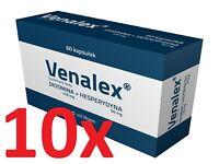 10 x Venalex- Diosmin 450 mg + Hesperidin 50 mg 300 Kapseln für 300 Tage TOP