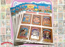 1986 GARBAGE PAIL KIDS Stick on Pictures Complete set of 12 MISP Imperial Vintag