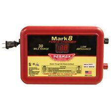 Parmak MARK8 Low Impedance 110/120-Volt 30-Mile Range Electric Fence Charger
