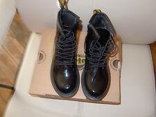 chaussure dr martens 30 neuve bottine noir brillante tres mode