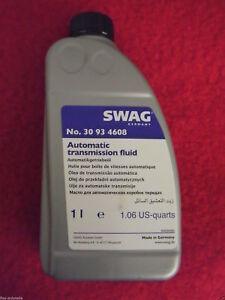 Swag 1l Automatic Transmission Fluid Yellow Atf 6HP Zf for BMW Hyundai Jaguar
