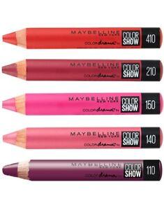 Velvet Lip Crayon lipstick liner  Maybelline Intense Drama Color Show