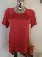 RIVER ISLAND DARK PINK TUNIC TOP SIZE 6 LADIES BNWT RP £22 may fit 8 10 see inch