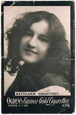 Ogden's Guinea Gold Cigarettes Kathleen Courtney Series C Card 78
