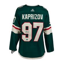 Kirill Kaprizov Minnesota Wild Autographed Adidas® Authentic Pro Hockey Jersey