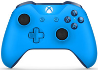Microsoft Xbox One Wireless Controller - Blue - XBOX1 3.5mm Controller