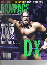 Rampage wrestling Magazine Mai 2000 Triple H