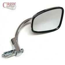 Cromo manillar Mirror End Bar Ideal Para Bsa B31 B33 émbolo marco rígido Modelos