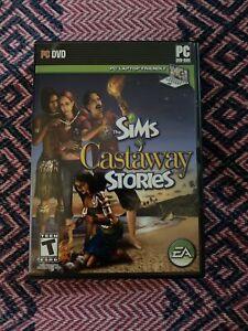The Sims : Castaway Stories (PC, 2008) CIB