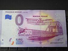 BILLET EURO SOUVENIR 2020-2 PEGASUS BRIDGE