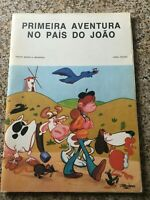 Comic Book: Primeira Aventura no Pais do Joao * 60 pages * Portuguese * 1977