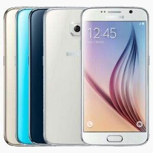 "Samsung Galaxy S6 SM-G920L Unlocked Smartphone 32/64GB ""6 MONTHS WARRANTY"""