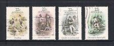 (UXAU042) AUSTRALIA 1981 Gold Rush Era fine used complete set